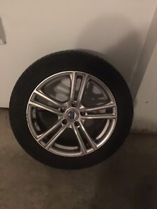 4 Michelin x-ice  winter tire 245/50/R18