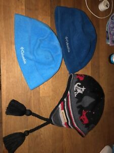 Three New Columbia Toques size youth / baby