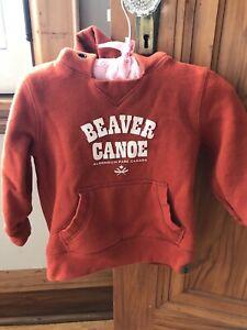 Beaver Canoe size 2 sweaters