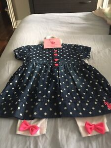 Girls outfit 6-9 months NWT