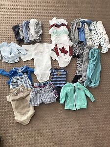 Boys 0-3 month and newborn clothes