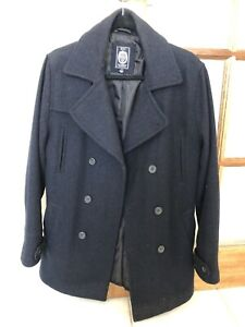 Small navy blue RDX men's winter coat/jacket