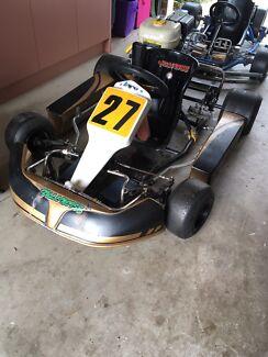 Azzuro Rookie cadet go karts