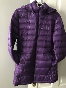 Ladies down filled jacket