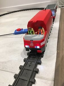 Train playmobile