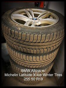BMW Alloys w/ Michelin Latitude X-Ice Winter Tires
