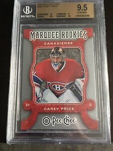 2007-08 OPC Carey Price RC BGS 9.5