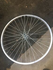 """26"""" and 24"""" new front bike rims"""