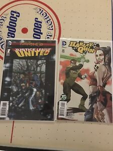 Harley Quinn and Justice league comics
