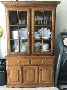 Showcase and dining table