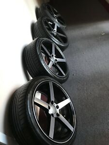 Rims and tires 18""