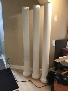 Decorative Columns - 4 in total