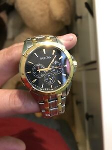 Men's watch —- Bulova