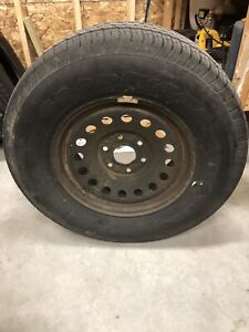 Tire and rim 265/70r17