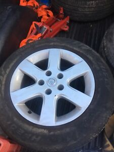215/60R16 tires and rims