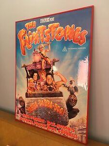 Flintstones framed movie poster New Farm Brisbane North East Preview
