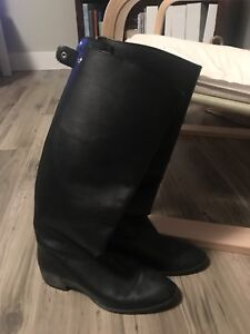 Leather Riding style boot - JCRew size 7.5