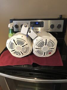 DB Drive Amphibious Marine Tower Speakers