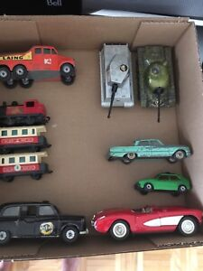 Corgi, Lesney, Matchbox toy cars