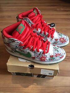 NIKE DUNK HIGH SB CONCEPTS UGLY CHRISTMAS SWEATER shoes