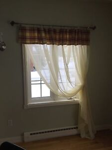 Window sheers & valances