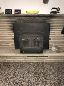 Wood burning stove fireplace insert REDUCED
