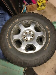 3 ford rims and tires