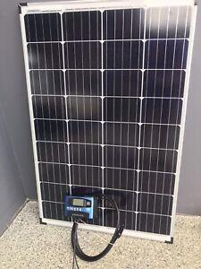 New 160 Watt Solar Panel Setup with MPPT Reg for camping/4x4/caravans