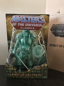 Spirit of Grayskull MOTUC Masters of the Universe He-Man