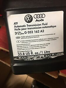 ATF (automatic transmission fluid) Audi/vw/BMW /Mercedes