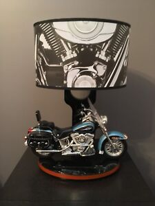 Harley Davidson motorcycle lamp and nightlight