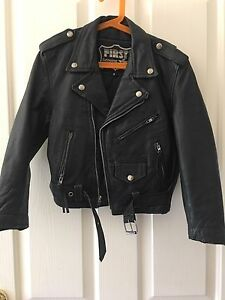 Ladies leather motorbike jacket Mount Barker Mount Barker Area Preview