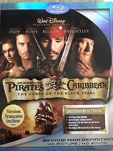 Pirates of the Caribbean Bluray