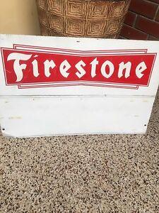 Firestone tyre rack sign Para Vista Salisbury Area Preview