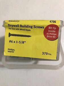 New Drywall Screws 370 #6 1 5/8 inch $6