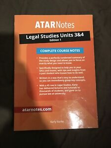 atar notes units | Gumtree Australia Free Local Classifieds