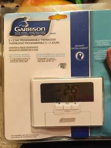 4 Programmable thermostats