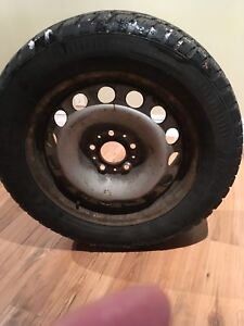 """Arctic Claw Winter Tires on Rims  235/55R/17"""""""