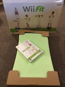 WII fit board and cd