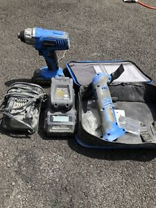 20v Mastercraft impact drill and multi tool