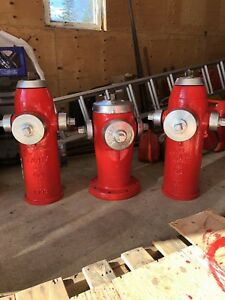 Old fire hydrants