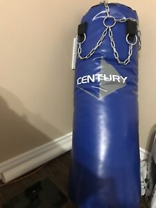 70 pound heavy bag with chains