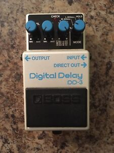 Boss DD-3, DD3 made in Japan like DD-2, DD2