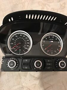 BMW M5/M6 cluster brand new in the box Clinate control