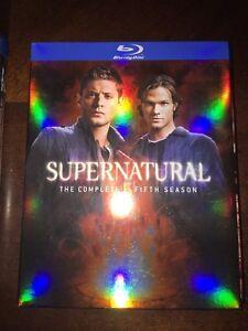 Serie blu ray supernatural saison 5