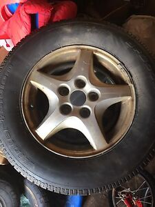 4-15 in Alloy rims