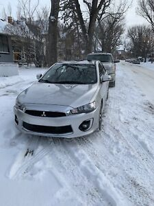 Mitsubishi Lancer 2017 AWD - lease takeover. Will pay $1k cash