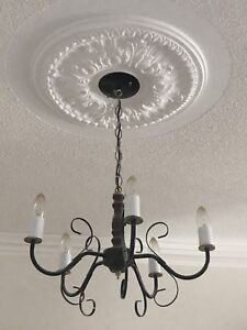 Candle ceiling lighting