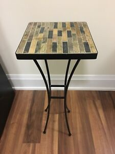 Stone mosaic Accent table