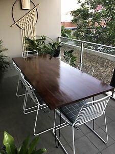 New Timber Table with folding legs Sydney City Inner Sydney Preview